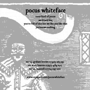 Pocus Whiteface image